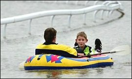 York Races During the 2000 Floods